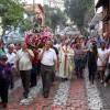 Nossa Senhora do Rosário, Padroeira de Embu das Artes, é homenageada com procissão e coração - Foto: Divulgação