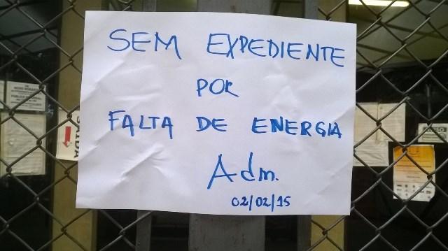 Fórum encerra expediente devido a falta de energia - Foto: Williana Lascaleia