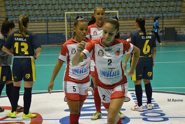 C.A Taboão da Serra está a dois pontos da liderança do Campeonato Paulista de Futsal Feminino - Foto: Divulgação