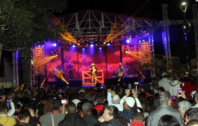 Mais de 5 mil pessoas compareceram para ver o show de Sérgio Reis - Foto: Divulgação