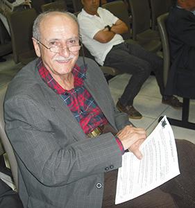 O comerciante Aureliano Lima Casacchi Filho recebeu a Medalha Abraão de Moraes que está entre as mais honrosas do município - Foto: Tribuna116