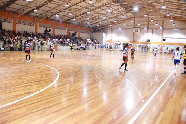 Equipe de futsal feminino do CATS volta á quadra no próximo sábado, 05, contra o time de Santo André - Foto: Ricardo Vaz