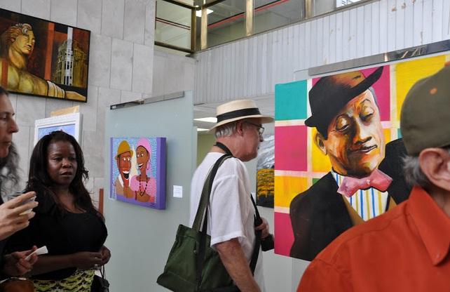 """""""Cores, Traços e Emoções"""", com os artistas de Embu das Artes está em exposição na Assembléia Legislativa de São Paulo até dia 20 de novembro - Foto: Divulgação"""