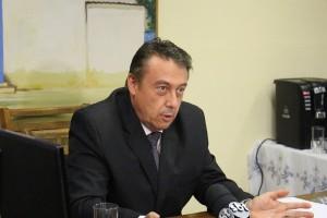 Peter Calderoni foi empossado nesta quarta-feira, 1. Se Ney Santos que está foragido não assumir em dez dias, Calderoni assume como prefeito - Foto: Williana Lascaleia
