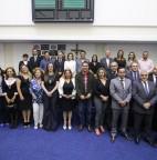 FOTO 01 - Prefeitura e Polícia Civil lançam dois projetos de combate à violência contra a mulher na Câmara