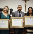 Joice Silva, Érica Franquini e Cido da Yafarma recebem título de Embaixador para a Paz