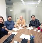 Vereadores visitam Sercom e conhecem programa de Inteligência Artificial da empresa